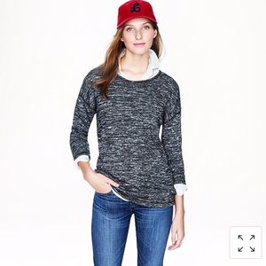 J. Crew Jaspe Tunic Sweater Sweatshirt Top XS